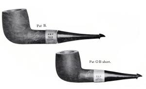 Pat B and Pat O B Short 1905 catalog