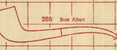 268 Bent Albert from 1947 chart