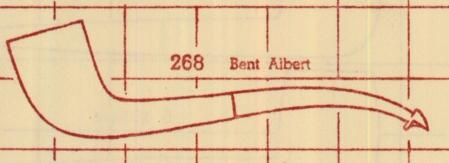 268 Bent Albert from 1947 chart