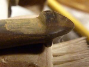 P Lip Button shelf sanding