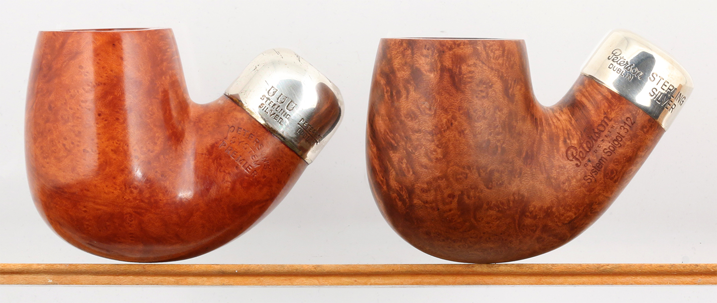 Dating peterson pipes by the sterling silver band hallmarks. Dating for one night.