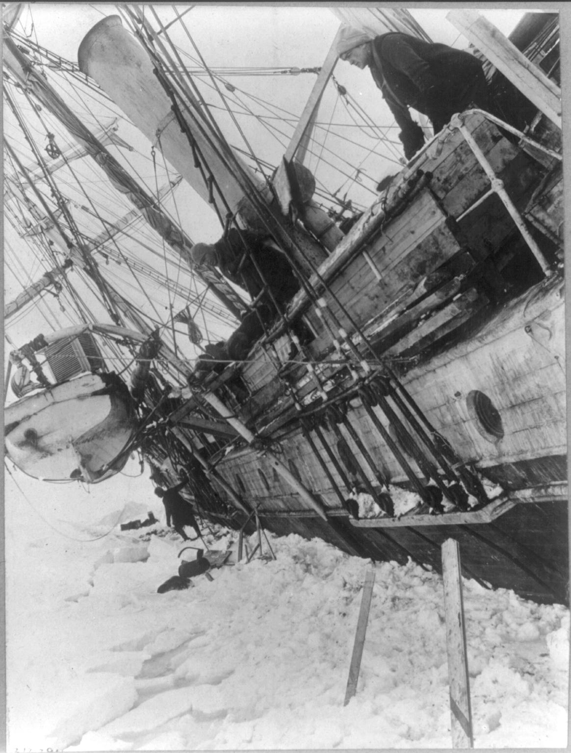 shackletons lost ship endurance - 770×1022
